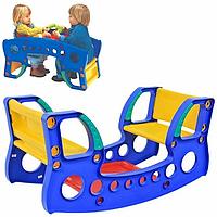 Стол - качалка 2 в 1 palplay 370