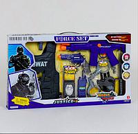 """Набор полиции """"Force Set"""" трещотка автомат, звуковые эффекты"""