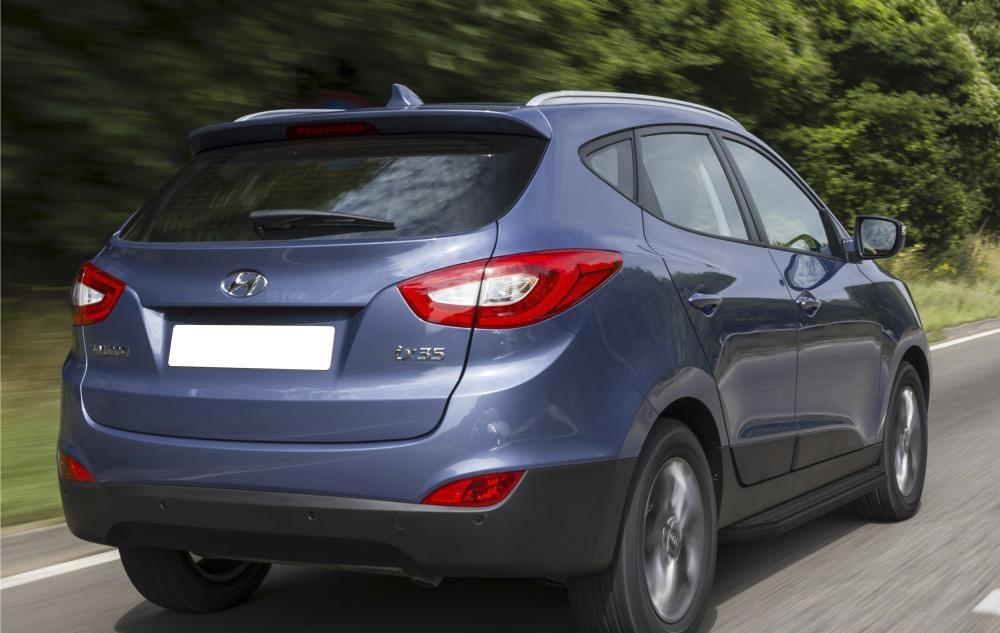 "Пороги ""Black"" Hyundai ix35 (2010-2015)/Kia Sportage (2010-2015)"