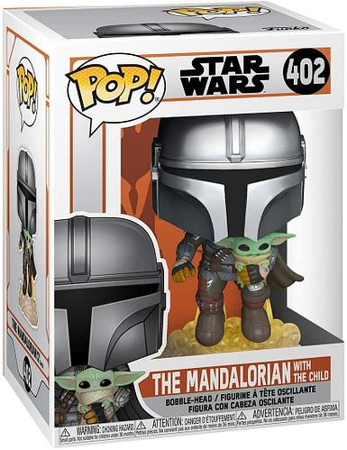 Funko Pop The Mandalorian with the child - 402