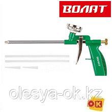 Пистолет для монтажной пены (в комплекте 4 насадки) ВОЛАТ