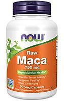 Now Foods, Мака, необработанная, 750 мг, 90 растительных капсул