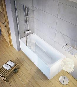 Акриловые ванны прямые