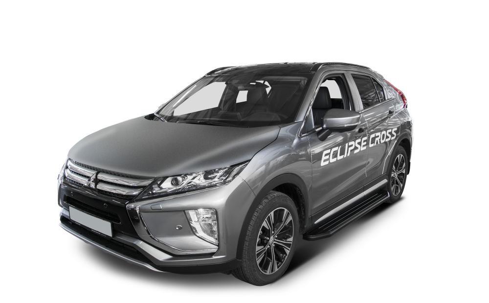 "Пороги ""Premium-Black"" Mitsubishi Eclipse Cross (2018-)"