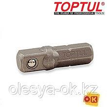 Переходник бита-головка 1/4 25мм TOPTUL (FSKA0808)