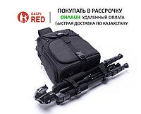 Фоторюкзак слинг черный рюкзак для фотоаппарата на одно плечо
