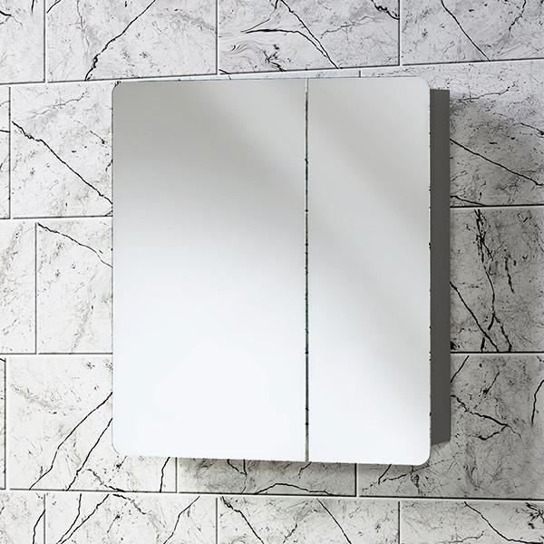 Зеркальная полка «Акваль Сеул» 65 см.