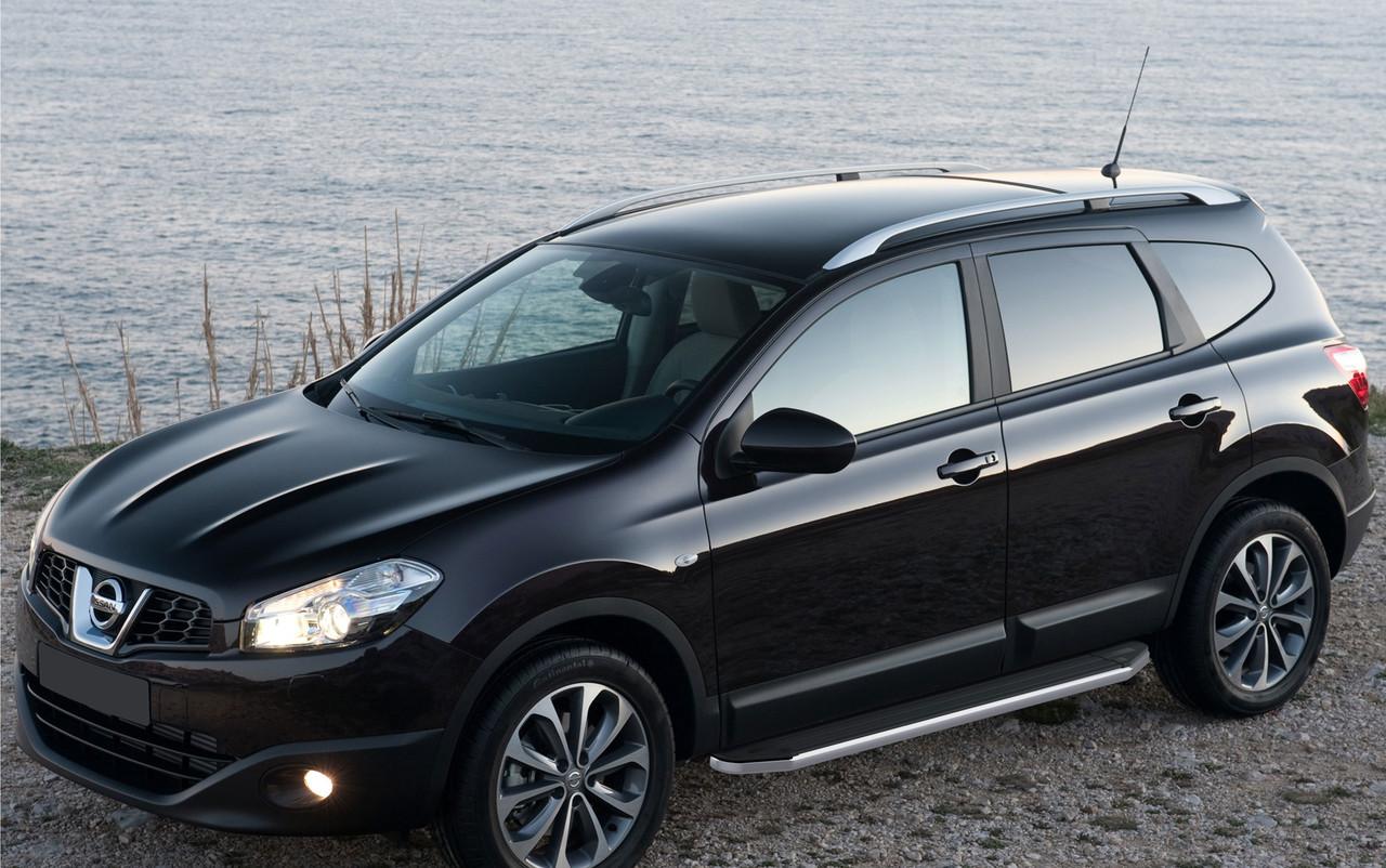 "Пороги ""Premium"" Nissan  Qashqai (2007-2013), X-Trail(2007-2015)"