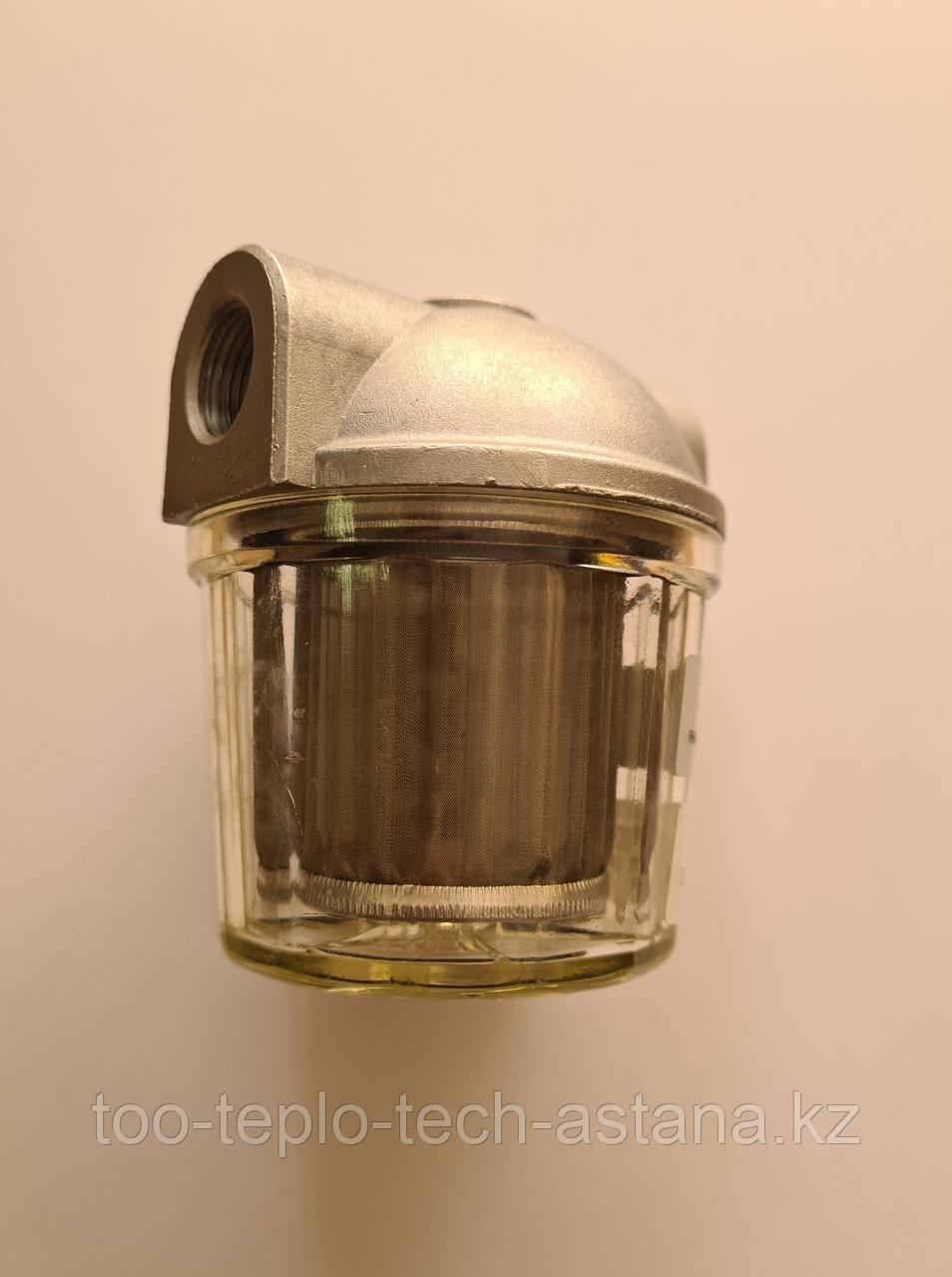 """Топливный фильтр FAG 3/8"""" (подача) для дизельных горелок"""