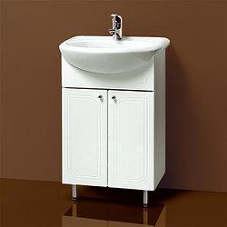 Тумба для ванной «Акваль Овация» 55 см. Умывальник в комплекте: «Люкс-Стиль-Т-Л 55»