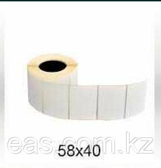 Термоэтикетка 58х40х500 в рулоне, фото 2