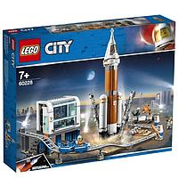 LEGO 60228 City Space Port Ракета для запуска в далекий космос и пульт управления запуском, фото 1