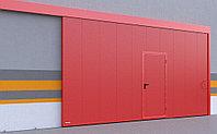 Противопожарные сдвижные ворота