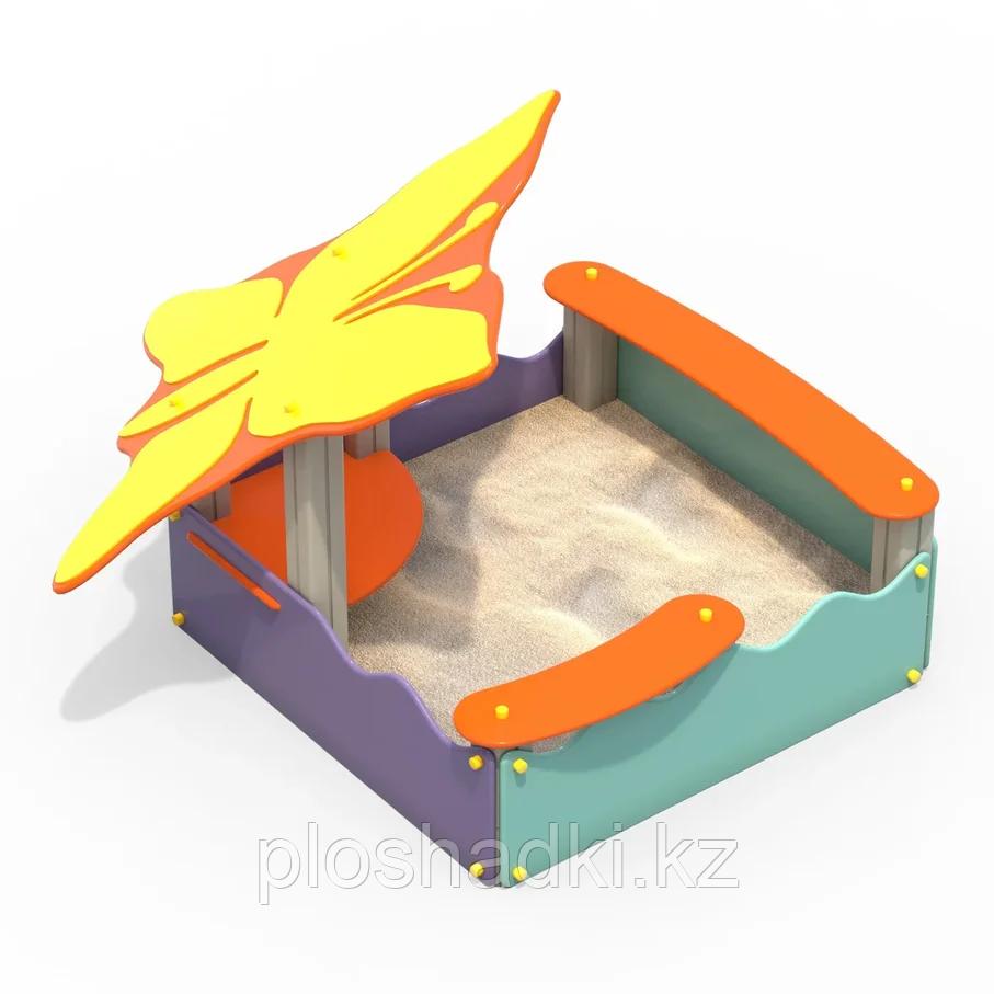 Песочница с навесом Бабочка