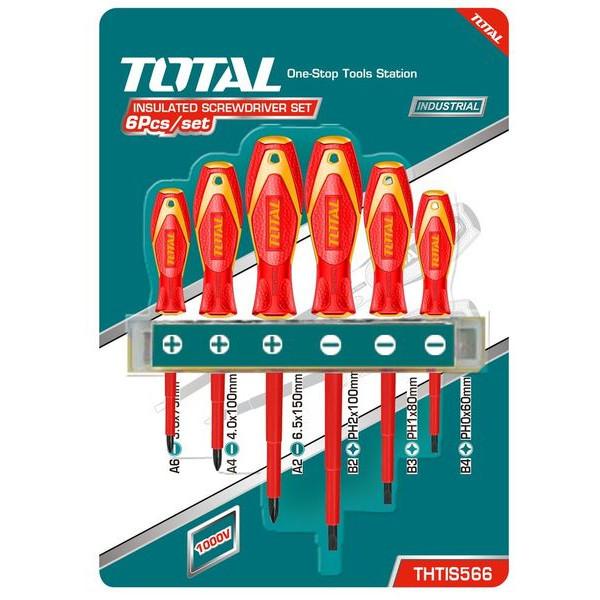 Набор диэлектрических отвёрток 6шт THTIS566