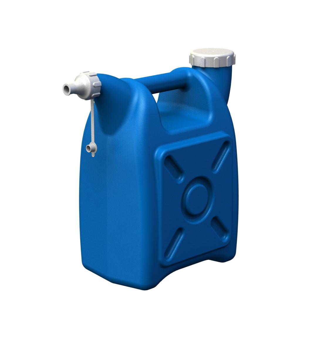 Канистра - лейка  Radivas с дополнительным горлышком для слива 15 литров  ОПТОМ
