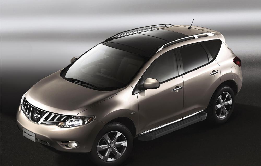 "Пороги ""Black""  Nissan  Murano (2009-2016)"