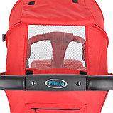 Коляска прогулочная Pituso Toledo с накидкой на ножки Red/Красный, фото 5