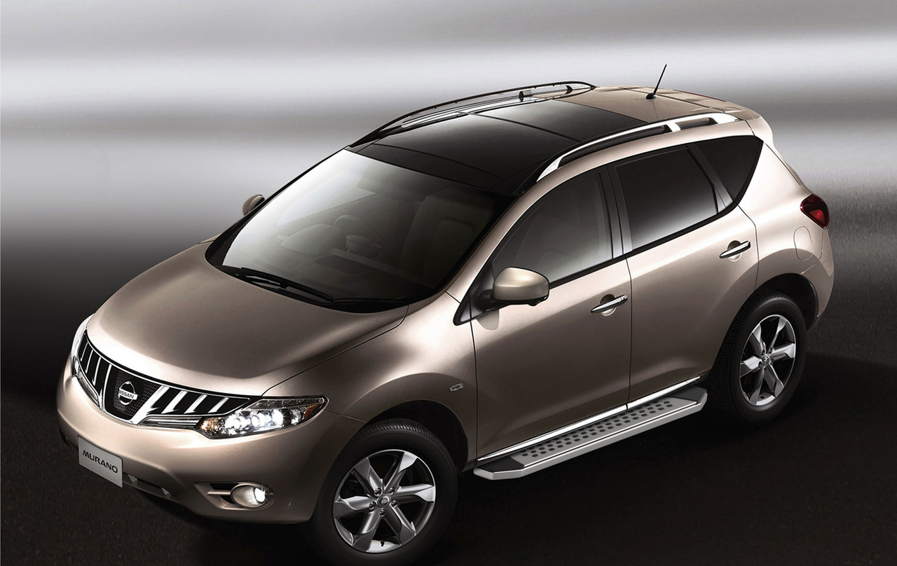 """Пороги """"Bmw-Style"""" Nissan  Murano (2009-2016)"""