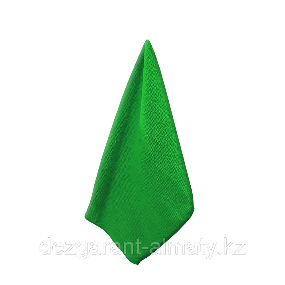 Салфетка х/б 40*40 зеленая