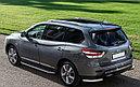 "Пороги ""Premium"" Nissan  Pathfinder  (2010-2016), фото 2"