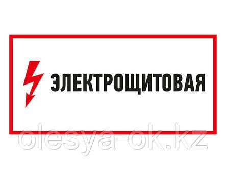 """Наклейка знак электробезопасности """"Электрощитовая""""150*300 мм Rexant (56-0004) (REXANT), фото 2"""