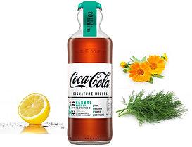 Газ. напиток Coca-Cola Signature Mixers Herbal стеклянная бутылка 200ml (12шт-упак) /Франция/