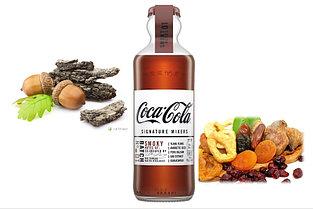 Газ. напиток Coca-Cola Signature Mixers Smoky стеклянная бутылка 200ml (12шт-упак) /Франция/