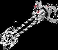 """Миксер ЗУБР МРД-1400 строительный, двойной, 1400 Вт, 0-520 об/мин, перемешивание """"сверху-вниз"""""""