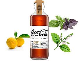 Газ. напиток Coca-Cola Signature Mixers Woody стеклянная бутылка 200ml (12шт-упак) /Франция/