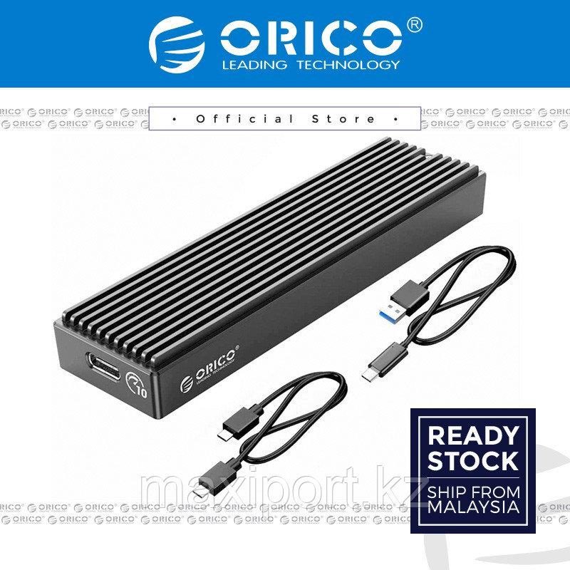 SSD корпус для накопителя PCI-express M.2 в TypeC или USB ORICO