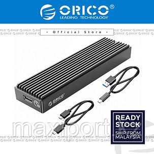 SSD корпус для накопителя PCI-express M.2 в TypeC или USB ORICO, фото 2