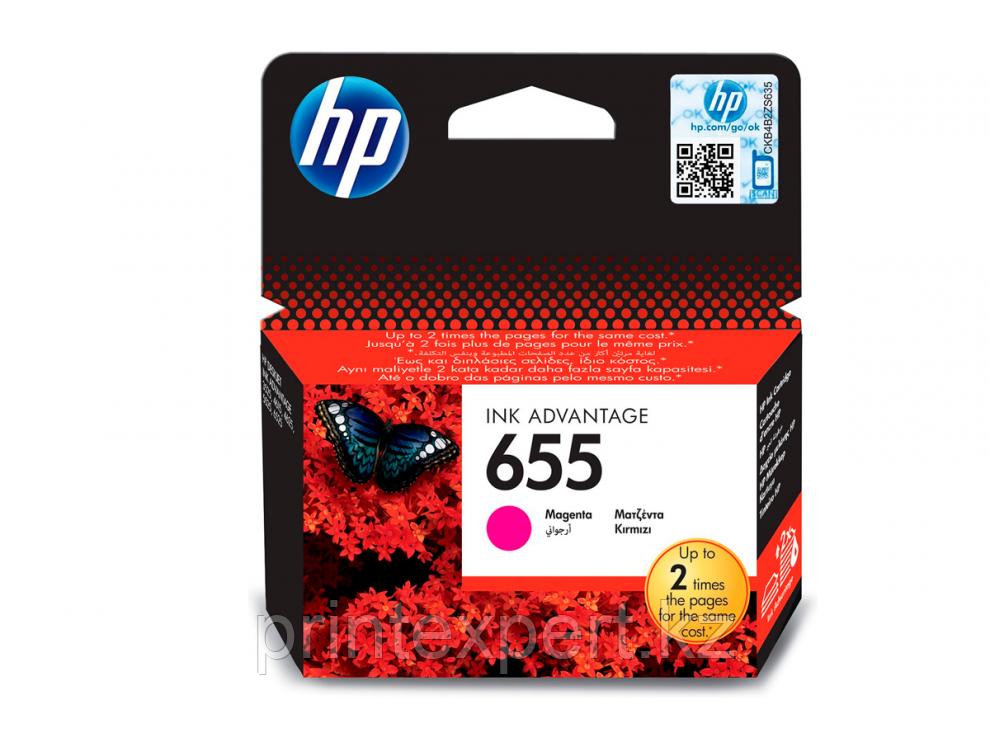 Картридж струйный HP №655 Magenta