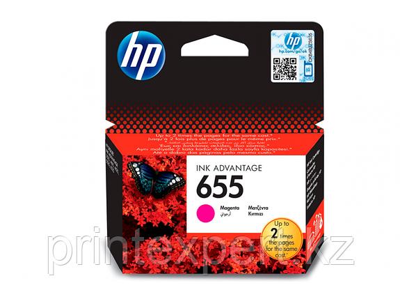 Картридж струйный HP №655 Magenta, фото 2