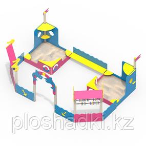 Песочный дворик Тип 3