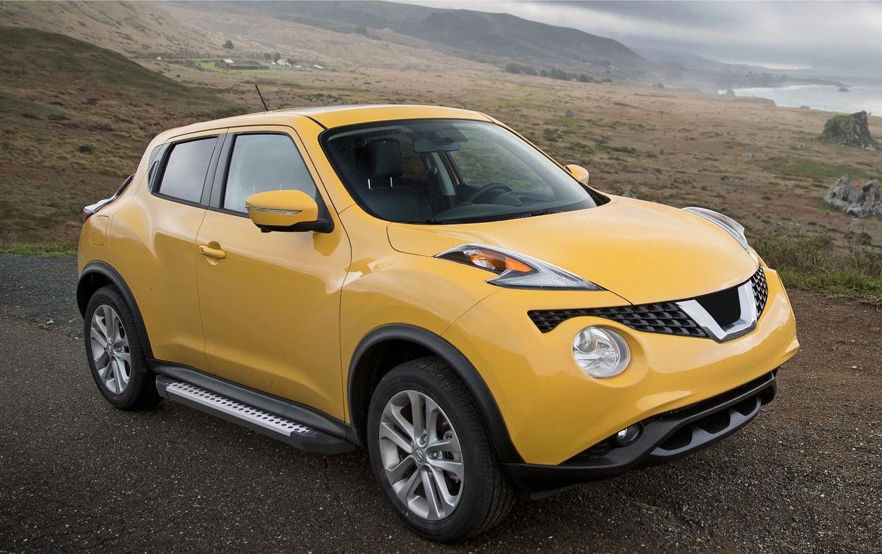 """Пороги """"Bmw-Style"""" Nissan  Juke, FWD  (2010-2016)"""