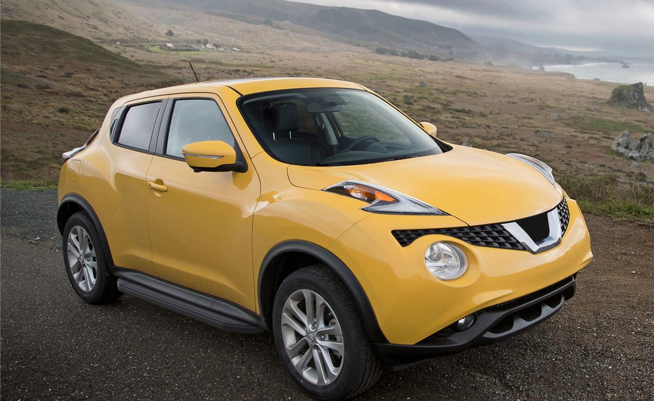 """Пороги """"Premium-Black"""" Nissan  Juke, FWD  (2010-2016)"""