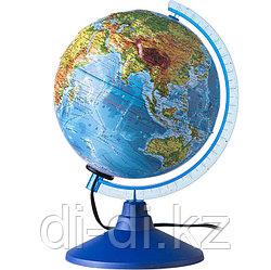 GLOBEN Глoбус физико-политический рельефный  «Классик Евро», диаметр 210 мм, с подсветкой ke022100185