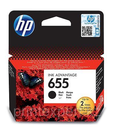 Картридж струйный HP №655 черный, фото 2