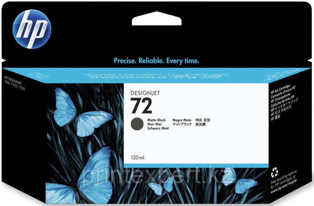 Картридж струйный HP №72 Vivera Матовый черный