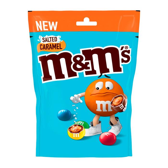 Драже M&M's Saled Caramel Treat Bag соленая карамель 70гр (16шт-упак)