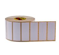 UHF RFID синтетическая бумажная бирка для лобового стекла