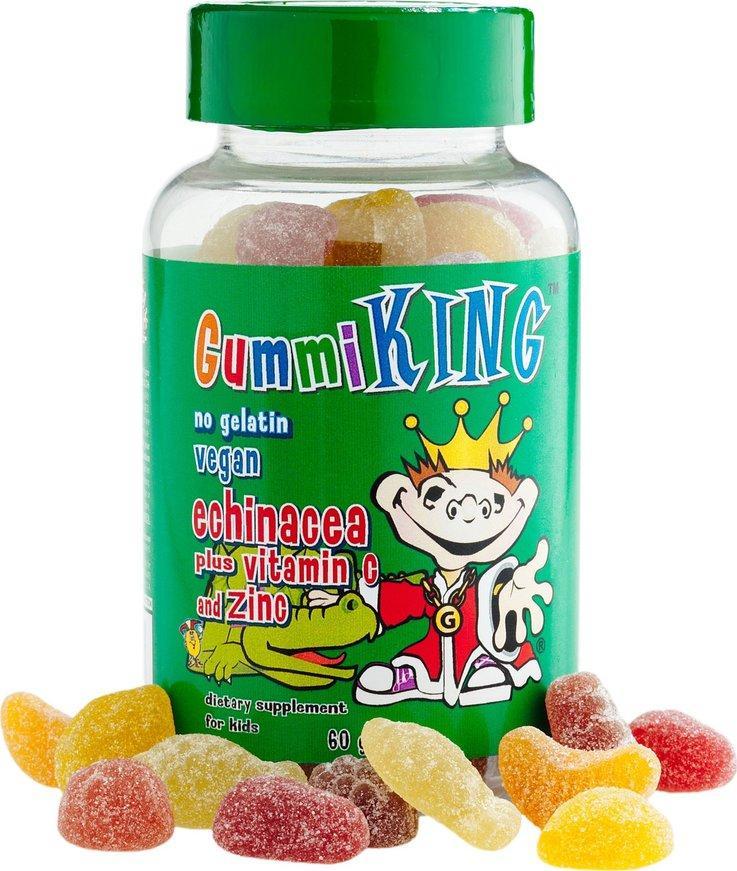 Gummi King  Эхинацея плюс витамин С №60 драже.жев