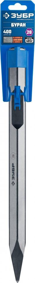 (29372-00-400) ЗУБР БУРАН HEX 28 Зубило пикообразное 400 мм