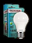 LED Лампа Dauscher A65 18W E27 4200K 90lm/w Нейтральный цвет