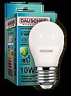 LED Лампа Dauscher G45 10W E27 4200K 90lm/w Нейтральный цвет
