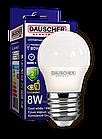LED Лампа Dauscher G45 8W E27 6400K 90lm/w Холодный цвет