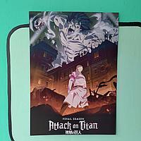 Постер Атака Титанов Последний сезон