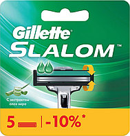 Сменные лезвия Gillette Slalom, 5 шт