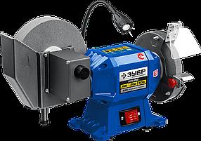 Заточной станок для мокрого и сухого шлифования ЗУБР, d150 / d200 мм, 500 Вт (ПТМ-150)